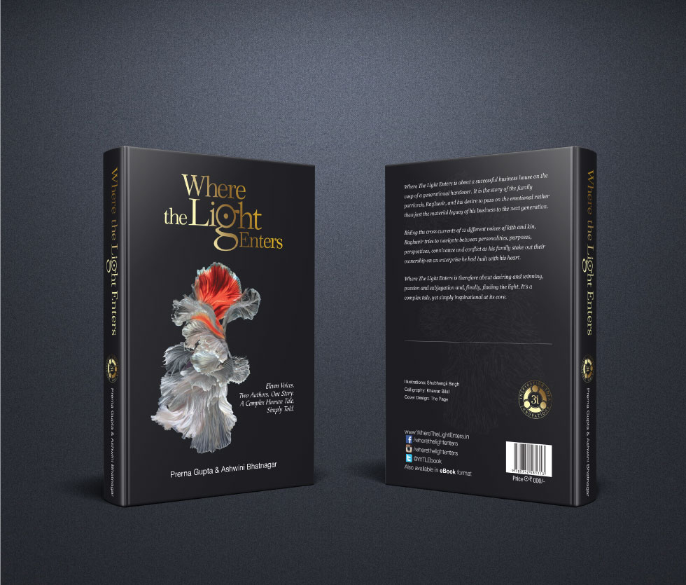 Where The Light Enters - Hard Cover